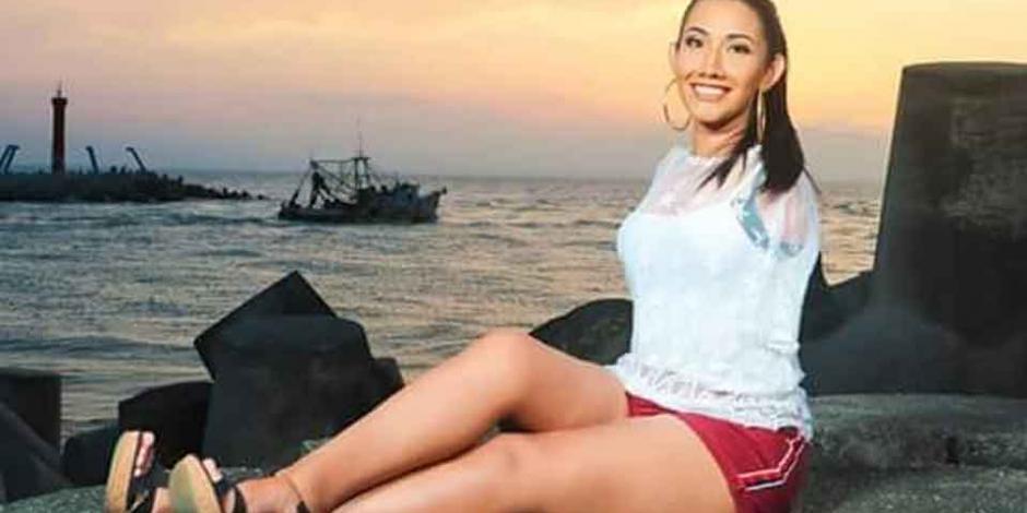 Ella es Gabriela Molina, la primera concursante sin brazos que busca ser Miss Veracruz