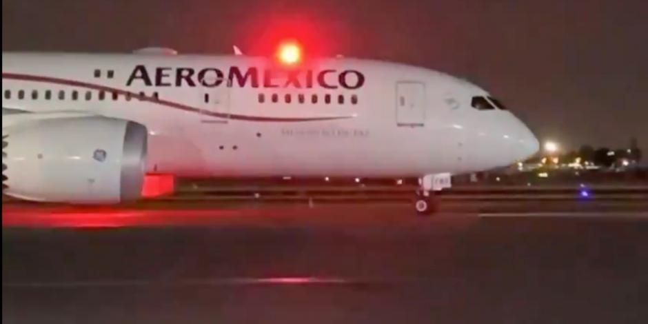 Llega a México noveno cargamento con insumos médicos desde China