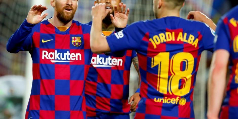 Barcelona invita a aficionados a mostrar apoyo virtual al equipo (VIDEO)