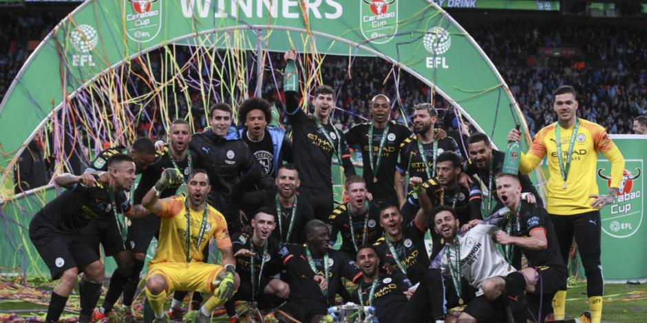 Manchester City, campeón de Copa por tercer torneo