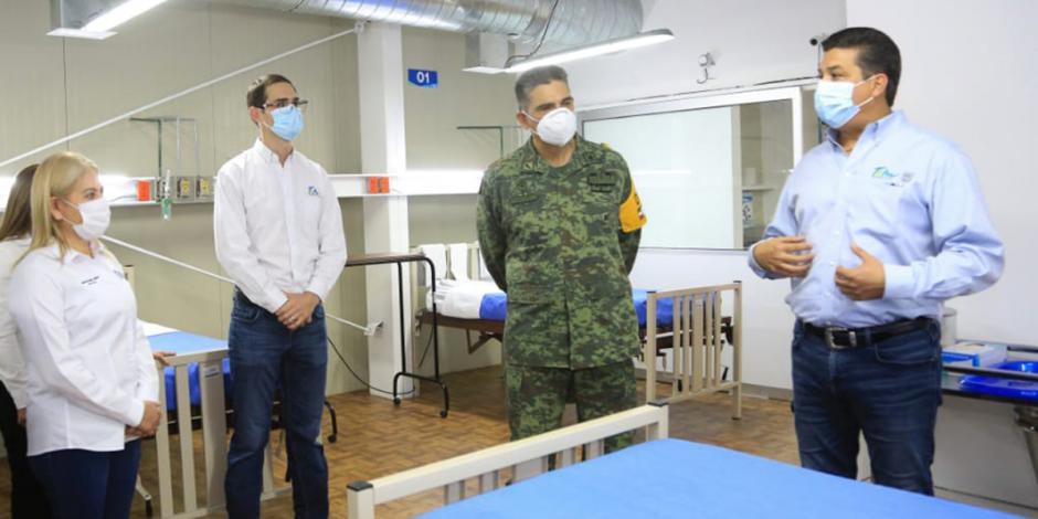 Tamaulipas habilita en tres semanas 8 hospitales COVID-19