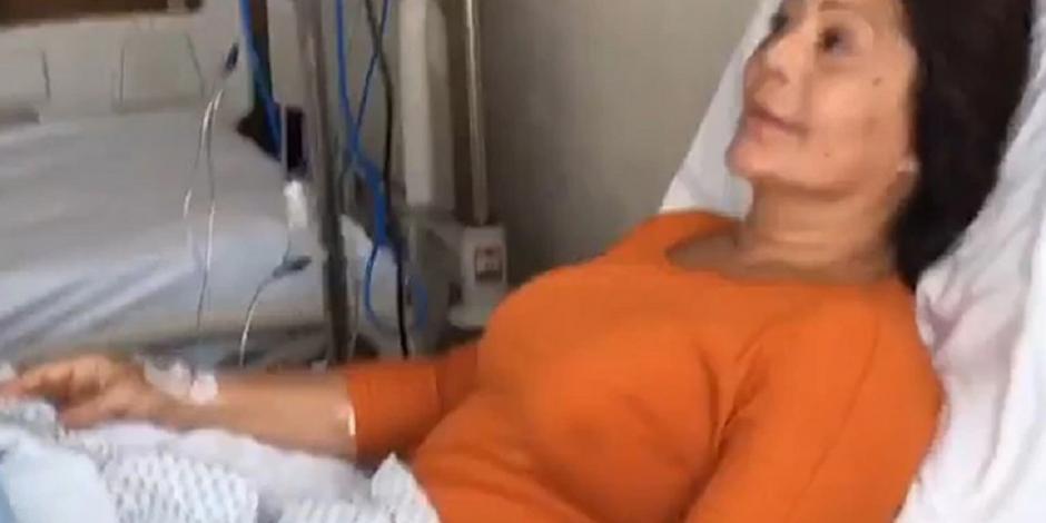 Operan de emergencia a Alejandra Guzmán