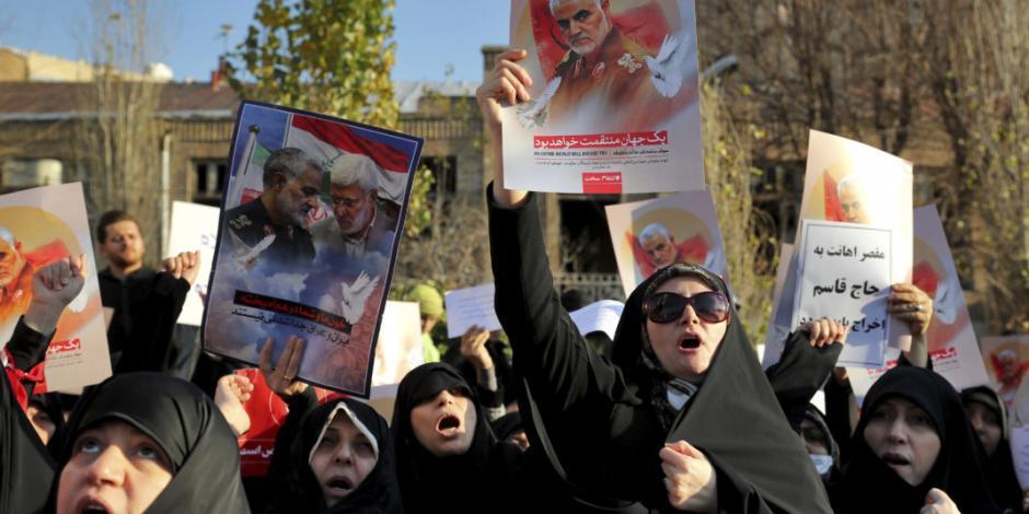 Policía iraní dispara municiones y lanza gas contra manifestantes