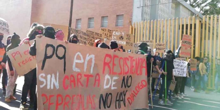 UNAM: interviene el rector y renuncia directivo... pero los paristas no ceden