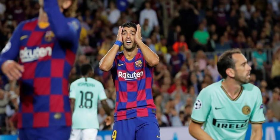 Barcelona pierde a Luis Suárez por los próximos cuatro meses