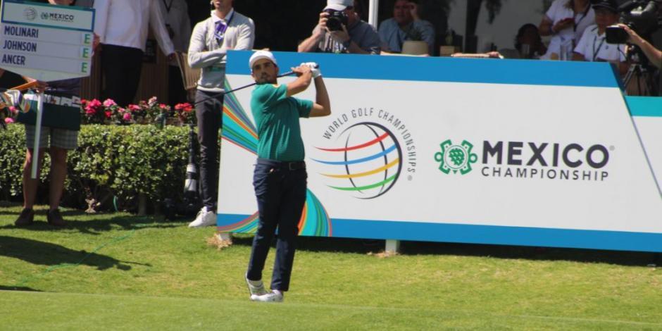 Ancer queda satisfecho con su debut en WGC-Mexico Championship