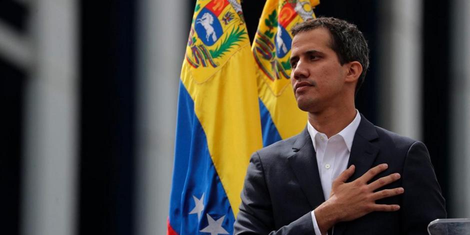 En sesión alterna, Guaidó se reelige como jefe Parlamentario