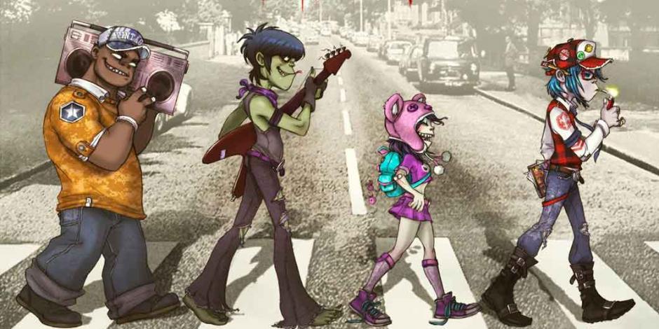 Al estilo Abbey Road, Gorillaz