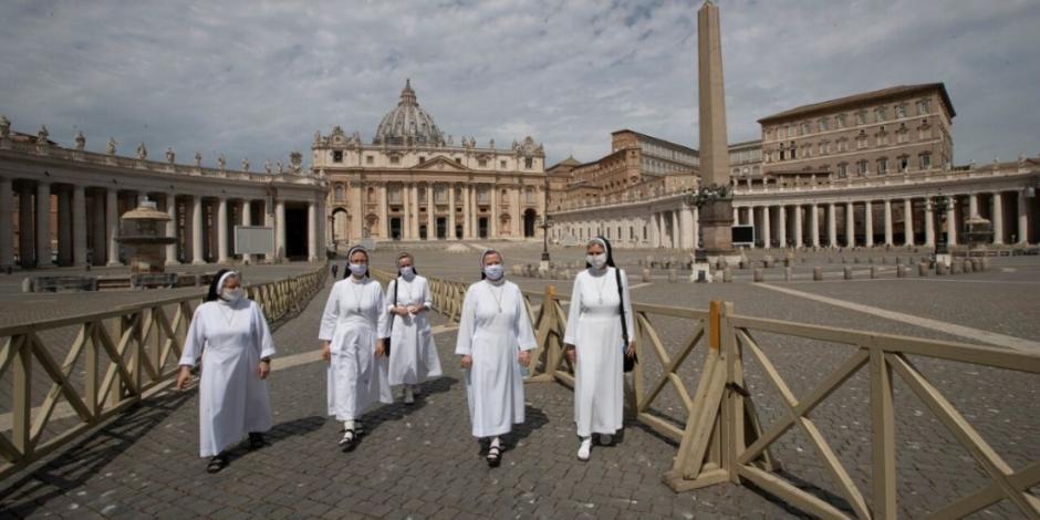 Basílica de San Pedro, en el Vaticano, reabre sus puertas a visitantes (FOTOS)
