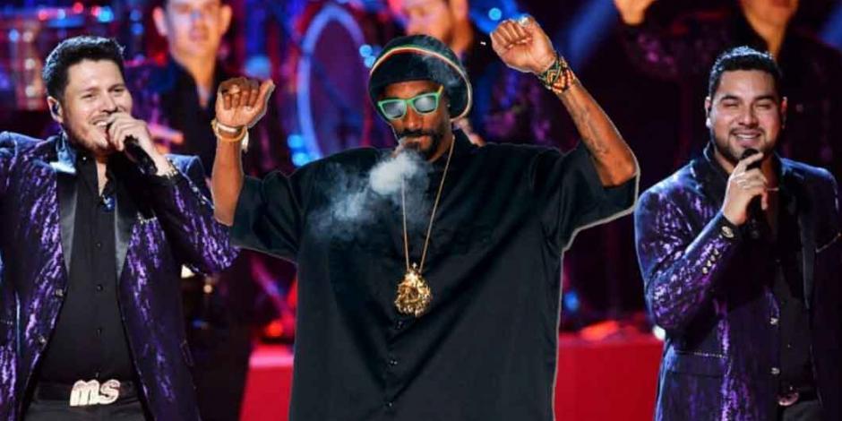 Banda MS y Snoop Dog, juntos en concierto: cuándo y dónde ver