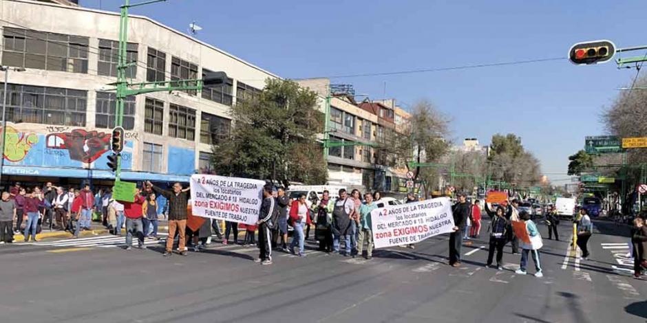 Alistan negociación por locales en el Mercado Hidalgo