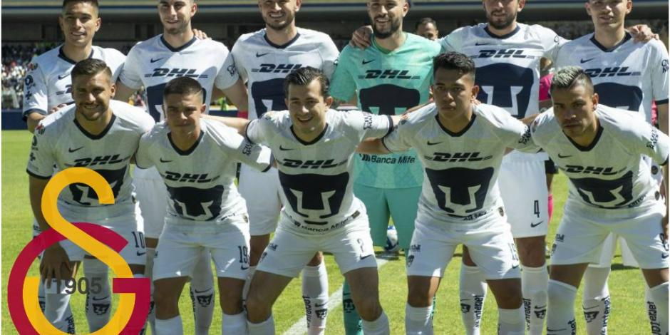 Canterano de los Pumas en la mira del Galatasaray de Turquía