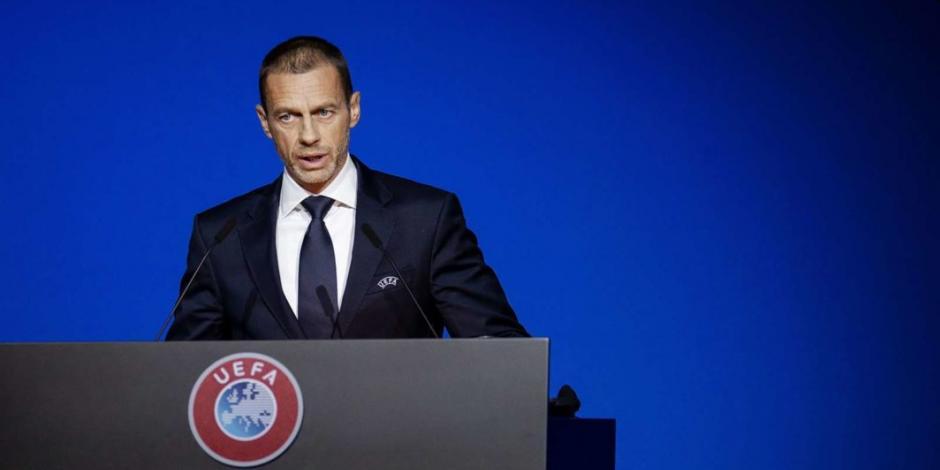 Presidente de UEFA cataloga como prematura cancelación de liga francesa
