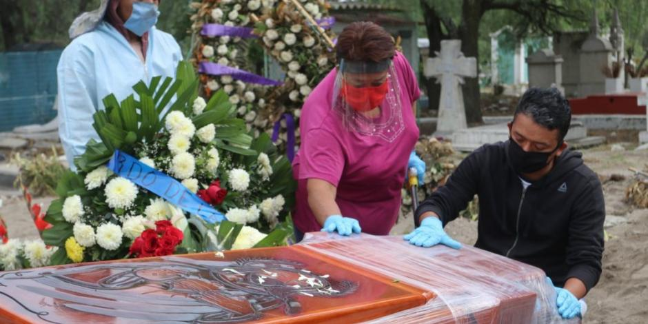 Suma México 3 mil 573 muertos por COVID-19 y 36 mil 327contagios