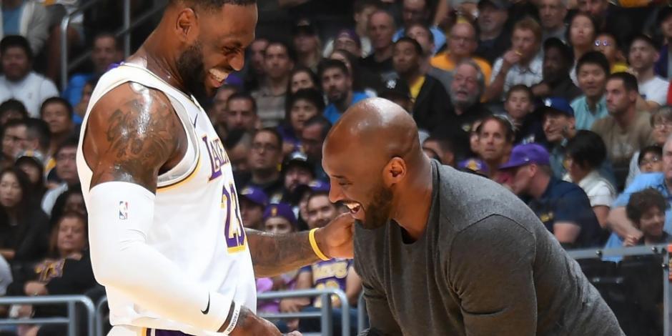 La emotiva carta de LeBron James, tras la muerte de Kobe Bryant