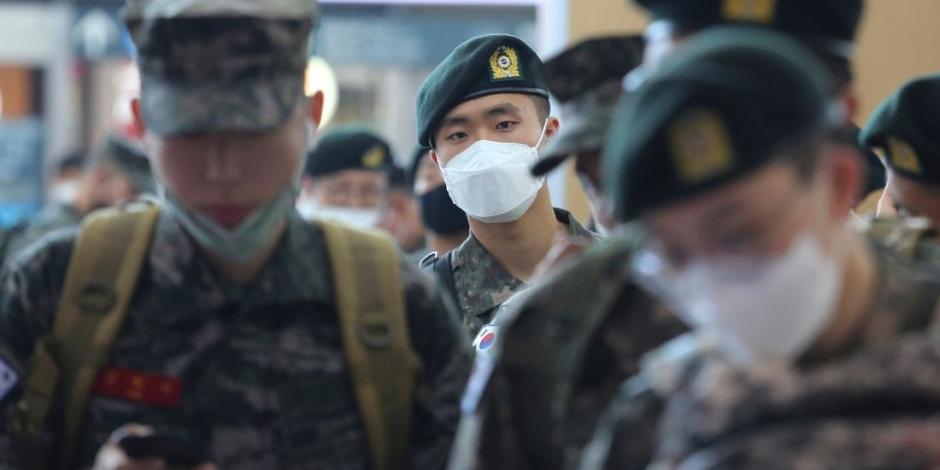 Suben contagios en Corea del Sur a más de 10,000 por COVID-19
