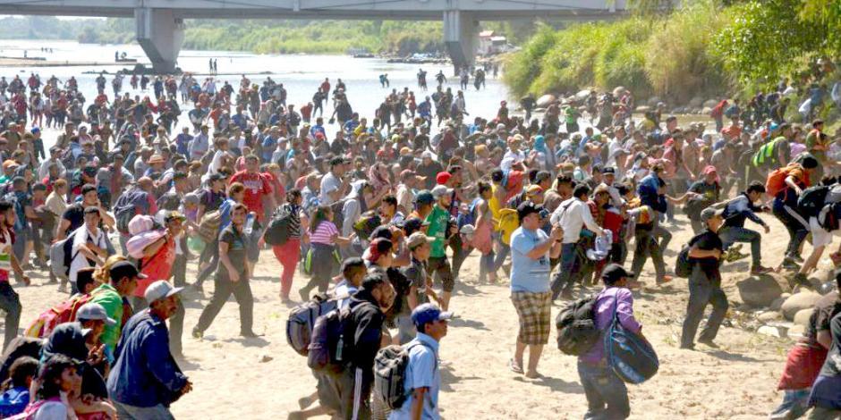 Guardia Nacional resistió ataques de migrantes en la frontera: AMLO