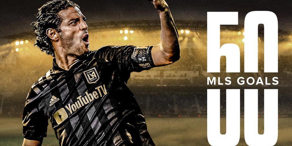 Carlos Vela llega a sus 50 dianas en MLS con golazo de tiro libre (VIDEO)