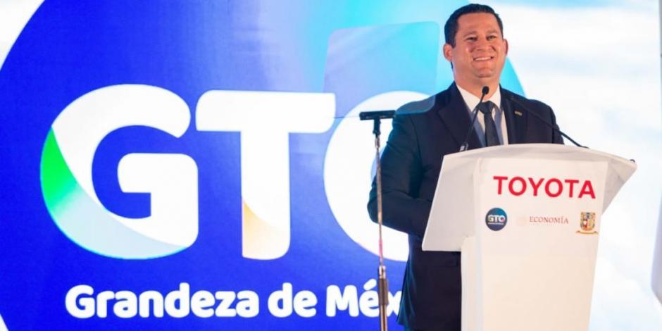 Diego Sinhue destaca inversión de 947 mdd de Toyota en Guanajuato