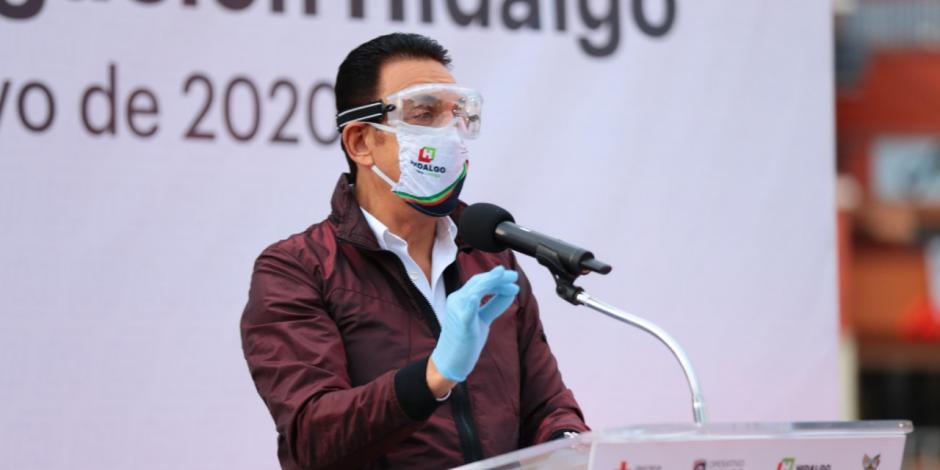 Entrega Fayad ambulancias para diferentes regiones de Hidalgo