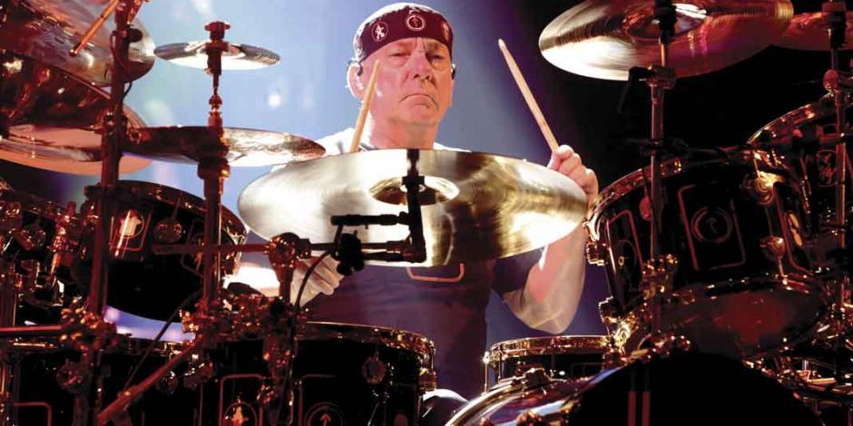 Adiós al icónico baterista Neil Peart