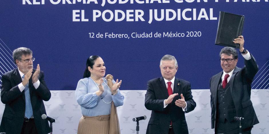 Va PJ por megarreforma: plantea 7 ajustes constitucionales