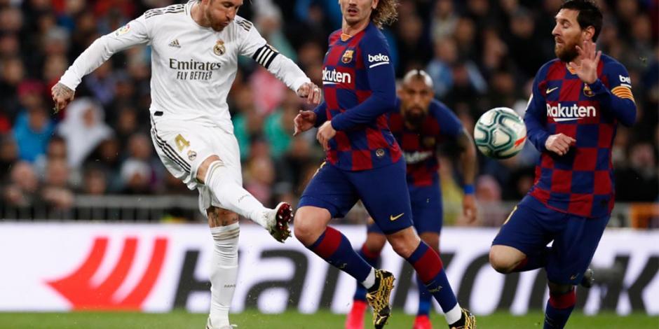 Los puntos que dejó el clásico español entre Real Madrid y Barcelona