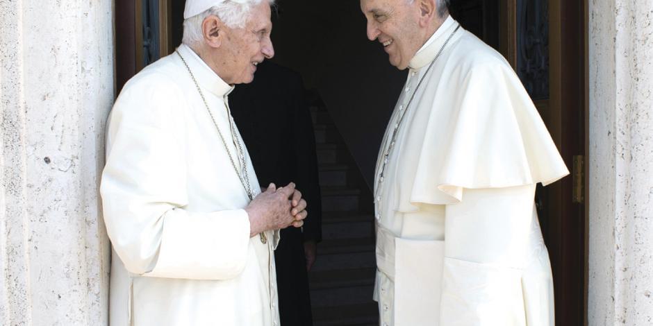 Benedicto empuja a la Iglesia a regularlo