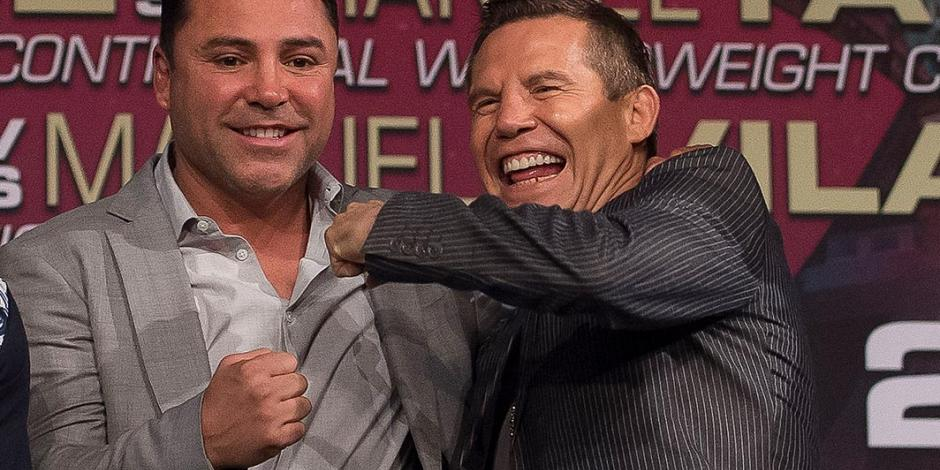 Julio César Chávez y Óscar de la Hoya se suben otra vez al ring