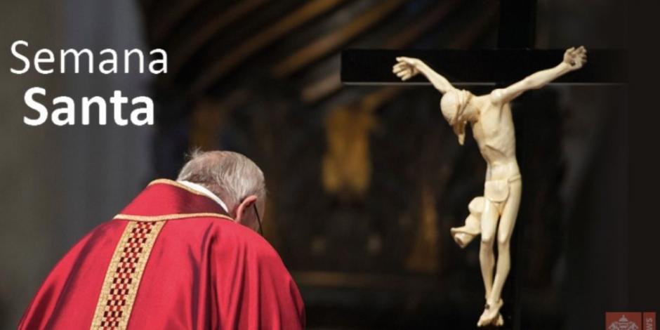El Papa Francisco celebra la Pasión del Señor del Viernes Santo