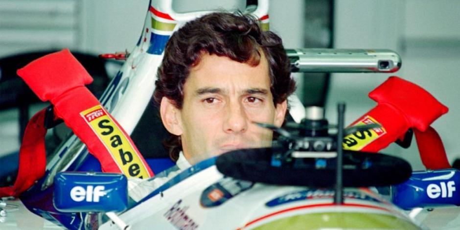 Ferrari rinde homenaje a Ayrton Senna en su 26 aniversario luctuoso