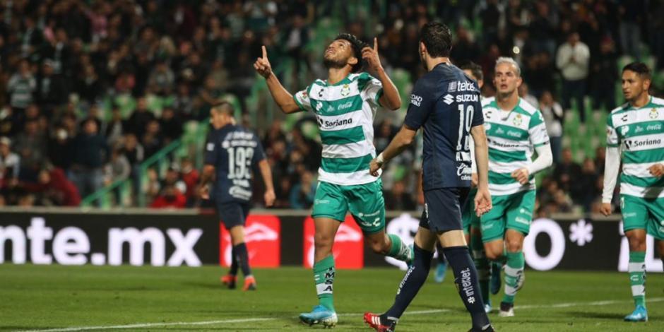 Santos golea a Pumas y lo pone contra la pared en la Copa MX