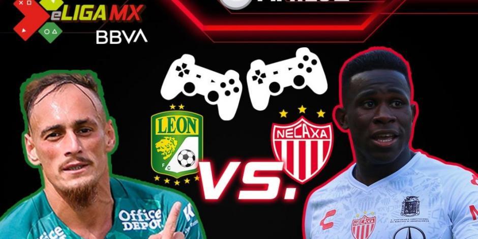 León vence al Necaxa y se afianza como el líder de la eLiga MX