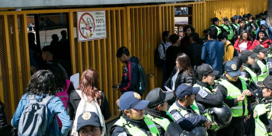 """""""Personas quieren violentar a la UNAM"""""""