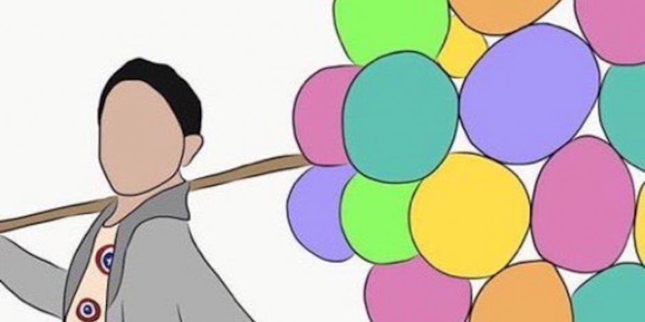 Piden justicia para Nico, un menor asesinado que vendía globos en Ecatepec