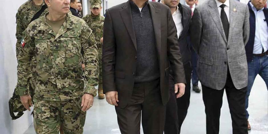 Durazo inaugura cuartel de la Guardia en Tijuana