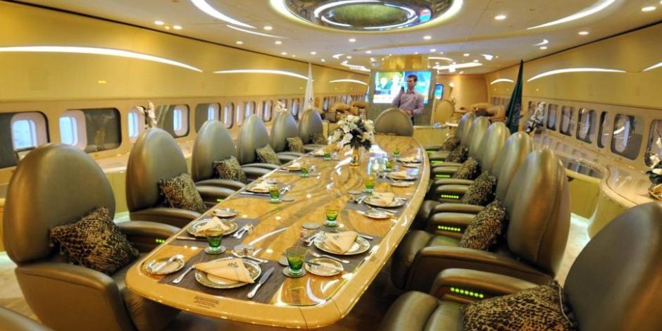 Conoce las 10 aeronaves más caras y lujosas del mundo... incluido el avión presidencial