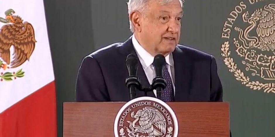 López Obrador reconoce problemas para frenar homicidios en Chihuahua