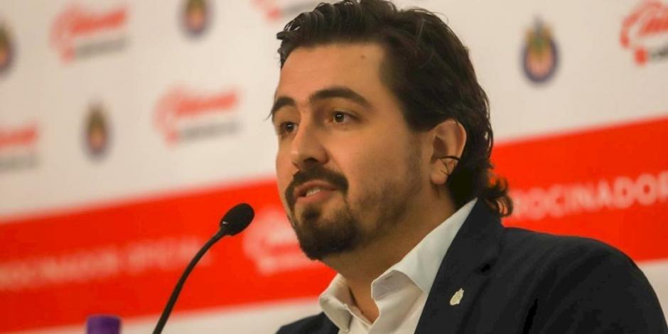 Vergara anuncia que salarios en Chivas se difieren a partir de este mes