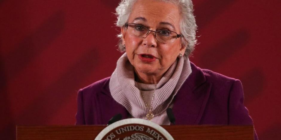 Pide Sánchez Cordero a gobiernos medidas responsables ante COVID-19