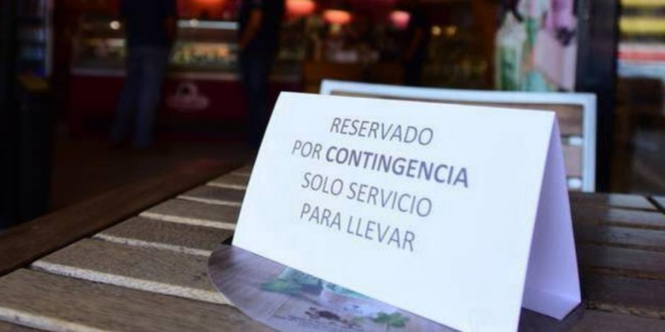Negocios en Puebla, sólo con servicio a domicilio por contingencia