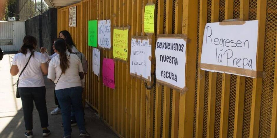 Entregan instalaciones de la Prepa 5 de la UNAM