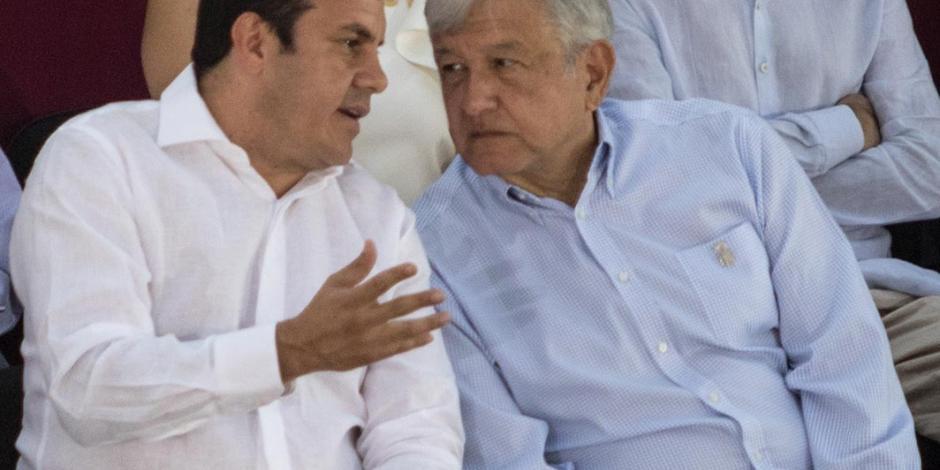 AMLO bromea con Cuauhtémoc Blanco por la derrota del América