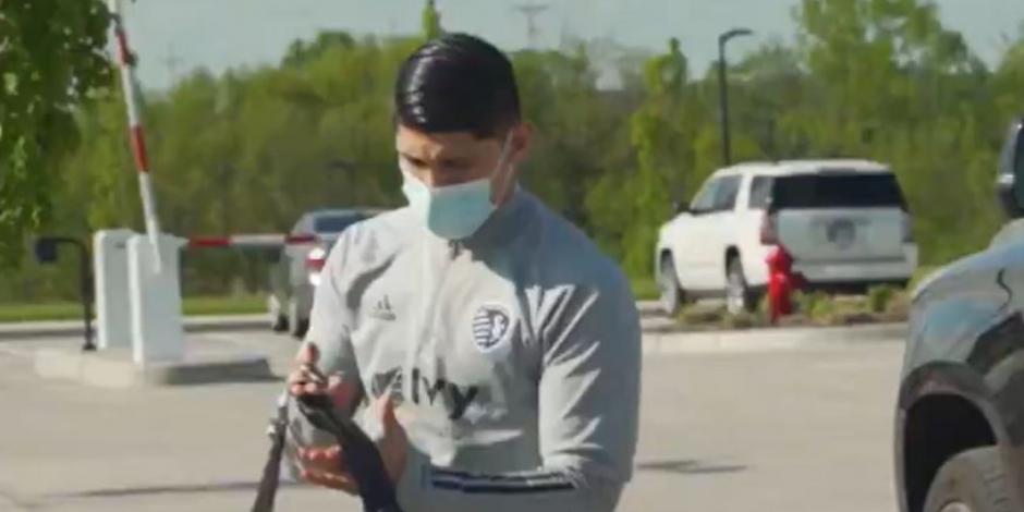 Alan Pulido y el Sporting Kansas City regresan a los entrenamientos (VIDEO)