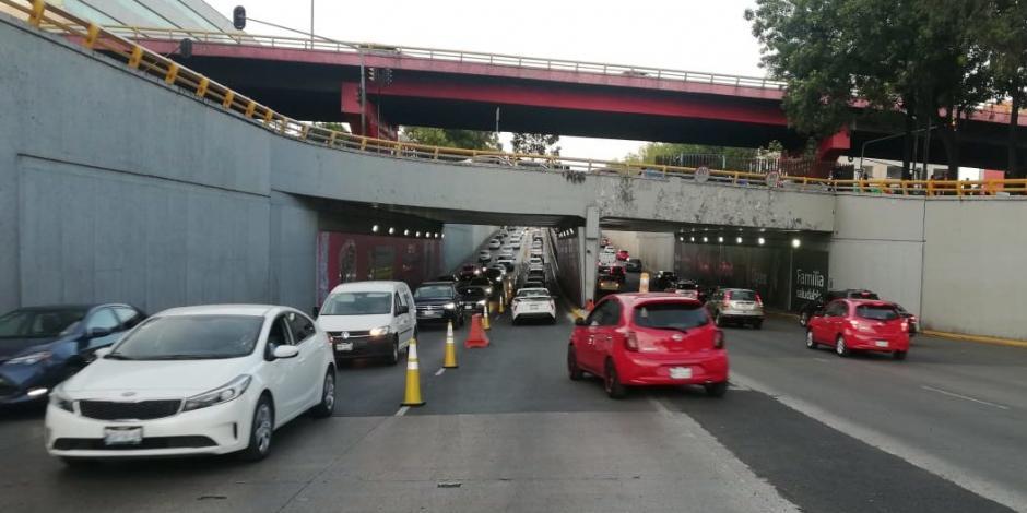 Habilitan carril reversible en Circuito Interior: consulta tramos y horarios