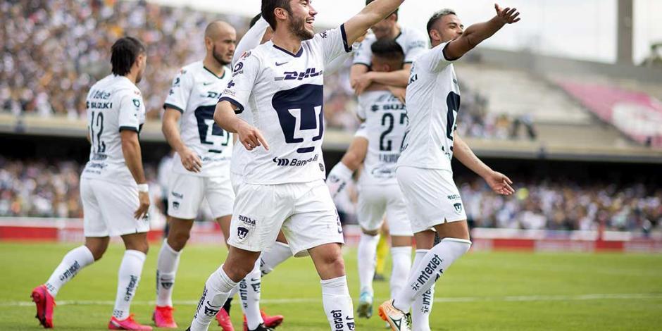 Pumas saca importante victoria en casa ante Rayados