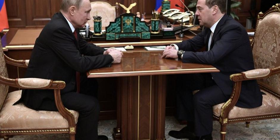 Renuncia Dmitry Medvedev, primer ministro de Rusia