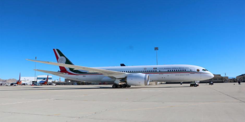 ¿Cuánto costó mantener el avión presidencial en EU?, aquí te decimos