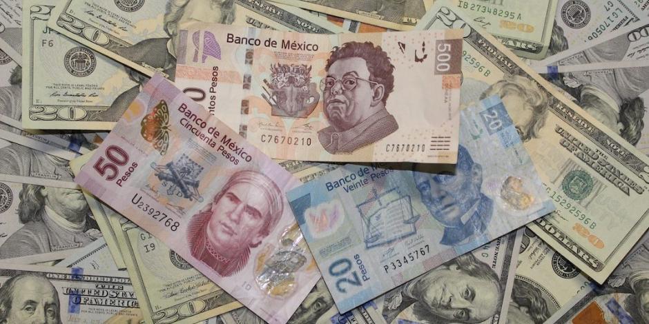 Peso mexicano hila cuatro días en niveles mínimos