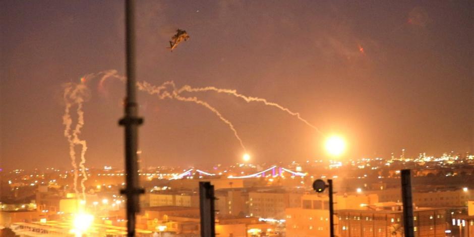 ...Y reportan nuevo ataque a zona donde está embajada de EU en Bagdad